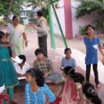 Good Habits - Bingo/ Housie game with slum children