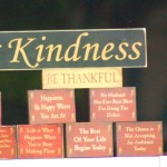 Small acts of kindness and appreciation