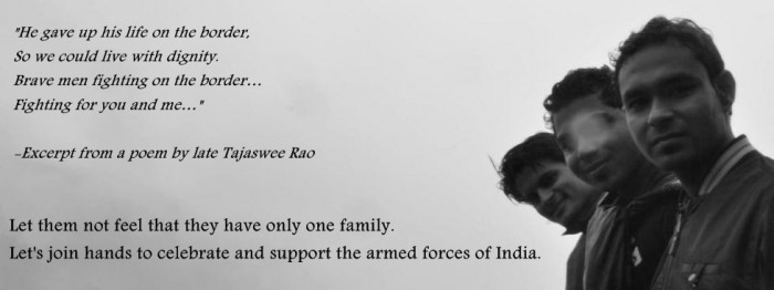 jazbaa ngo; remembering our soldiers