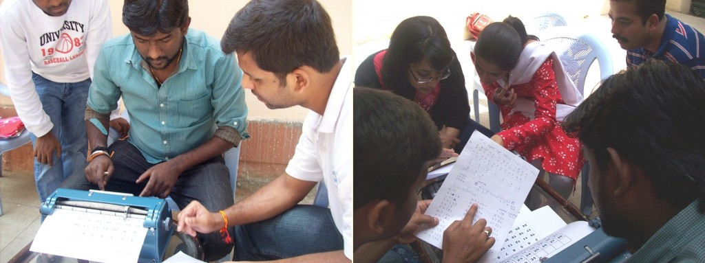 volunteering with disabled, sensitize sighted people towards blind, volunteering for disabled