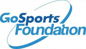 Go Sports Foundation logo; sports for development