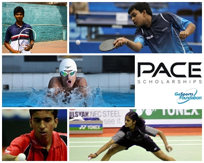 PACE Scholars; go sports foundation; sports for development
