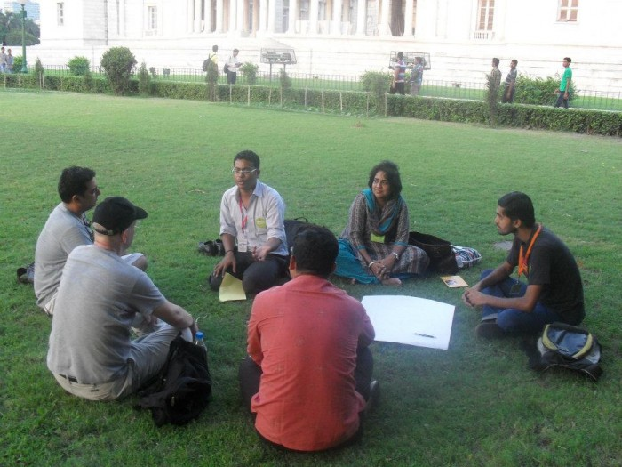 Volunteer orientation session, volunteer management
