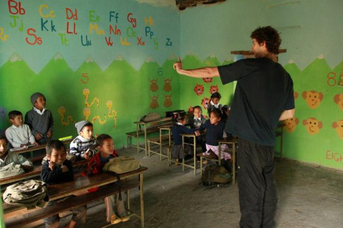 Volunteer at Prems Orphanage - Experience Himalayan Nepal, EHN nepal