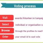 iVolunteer Awards - voting process