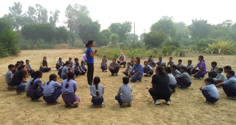 Project KHEL lucknow, volunteer in India, volunteering in India, sports for development