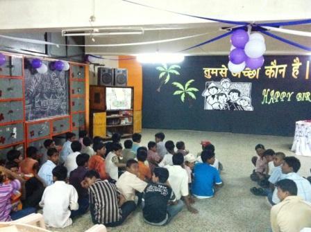 birthday celebrations at Don Bosco Snehalaya, Vadodara, CSR, Taj Vadodara, volunteering with children