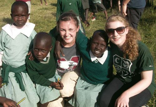 from half empty to half full to always full, volunteering, Arriel Tucker, Volunteer travel, volunteer experience, voluntourism, volunteer in Kenya,