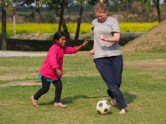 Project KHEL, volunteering in India, volunteering with children, activity based education