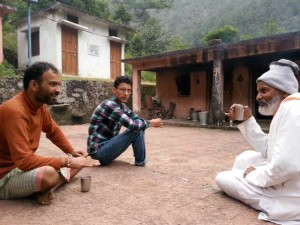 Tea_conversation, volunteer in Uttarakhand, volunteering in Uttakhand, Uttarakhand after the floods