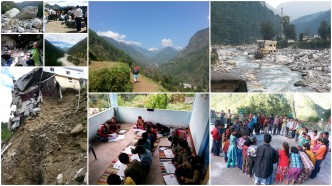 Volunteering in Uttarakhand, snapshots of Uttarakhand volunteering month, volunteer in Uttarakhand