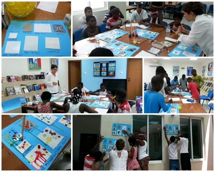 volunteering in Angola, Volunteering in Luanda, Volunteering with children, Curiosity Club, Science club