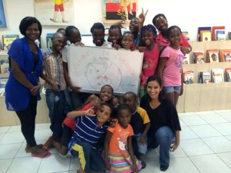 volunteering in Angola, Volunteering in Luanda, Volunteering with children, curiosity club for children