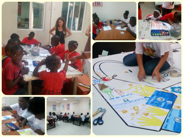 being palanca, teaching values to children, volunteering with children, volunteering in Luanda, volunteering in Angola