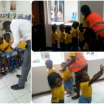 volunteering with children, volunteering on global hand wash day, teaching kids about hand hygiene