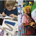 volunteering from heart, volunteering at paediatric cancer society, medical clowns