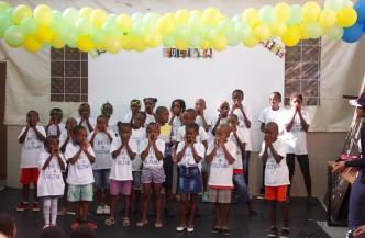 Volunteering for children day celebration - 1