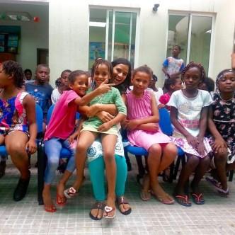 volunteering in Angola, Volunteering in Luanda, Fundacao arte e cultura, working with children in luanda