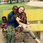 Volunteering with children in Luanda, Angola