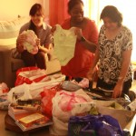 Clothes collection drive – sorting