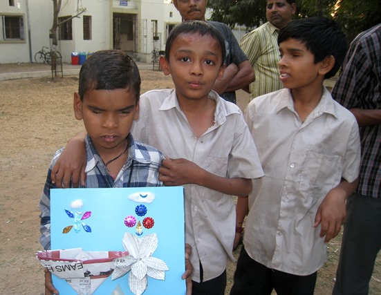 volunteering with children with disability, friends society, volunteering with blind, tactile painting, tactile art with visually challenged