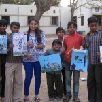Tactile Painting- friends society-volunteering with children with disabilities (5)