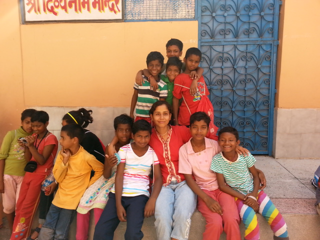 Kids from Orissa at Shivanand Ashram