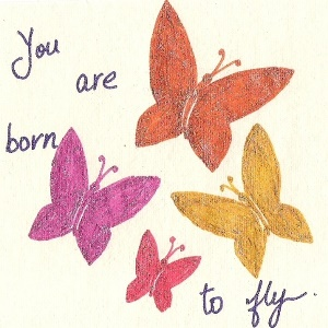 you are born to fly