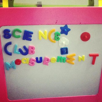 parenting and volunteering - fun science club at home for children